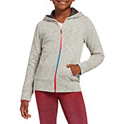 DSG Girls' Everyday Cotton Fleece Full Zip Hoodie