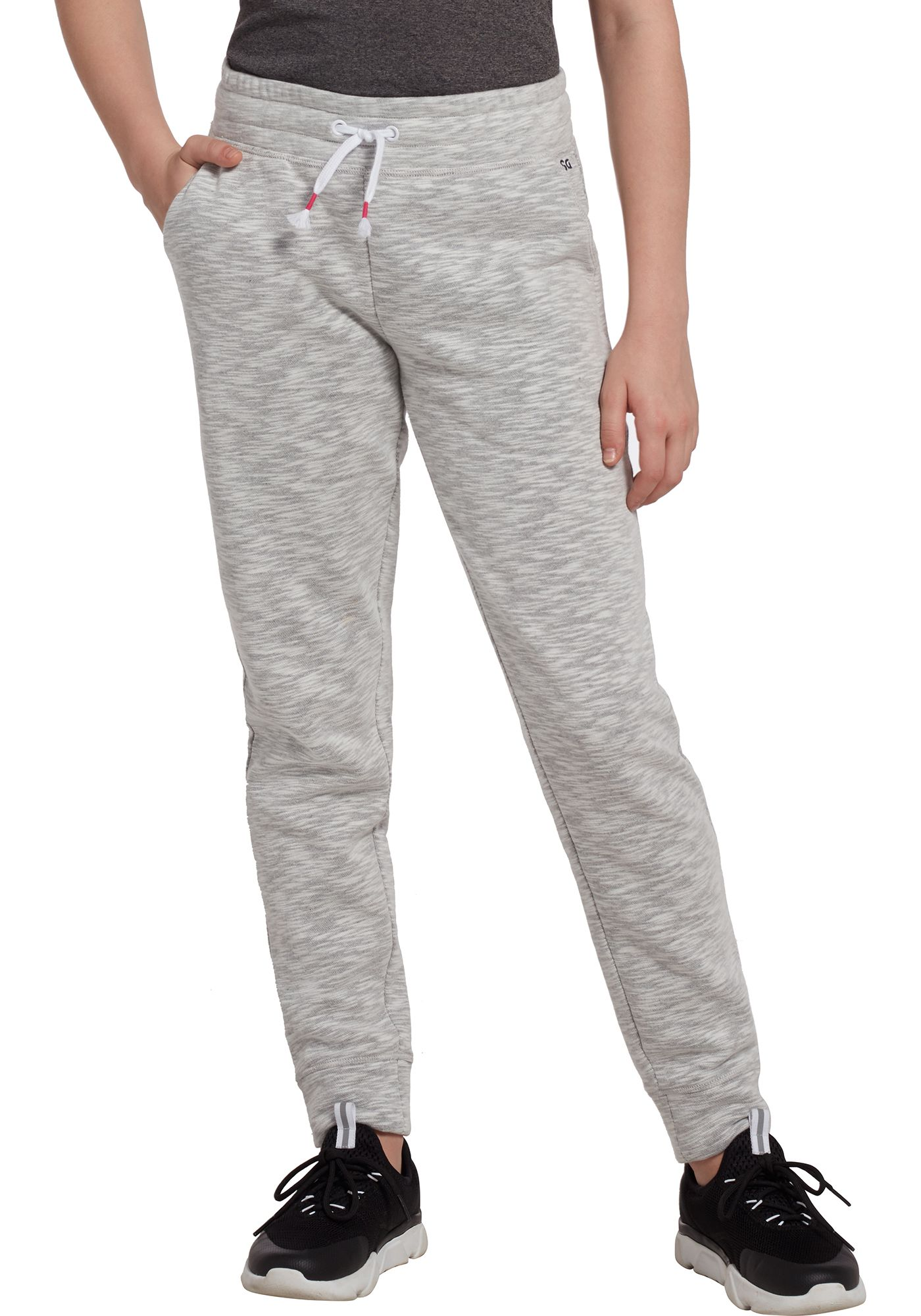 DSG Girls' Everyday Cotton Fleece Cotton Fleece Jogger Pants