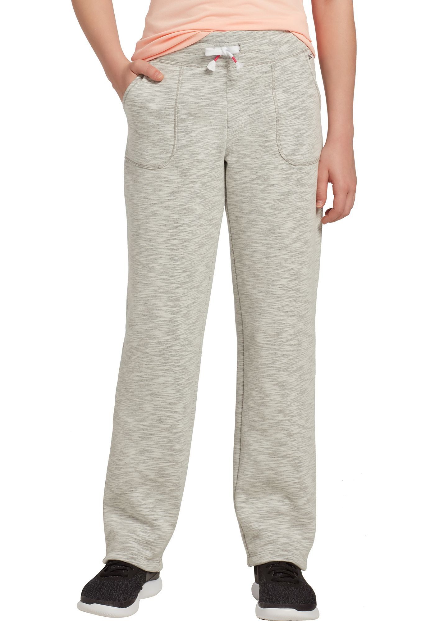DSG Girls' Everyday Cotton Fleece Pants