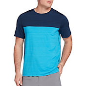 DSG Men's Blocked Performance T-Shirt (Regular and Big & Tall)
