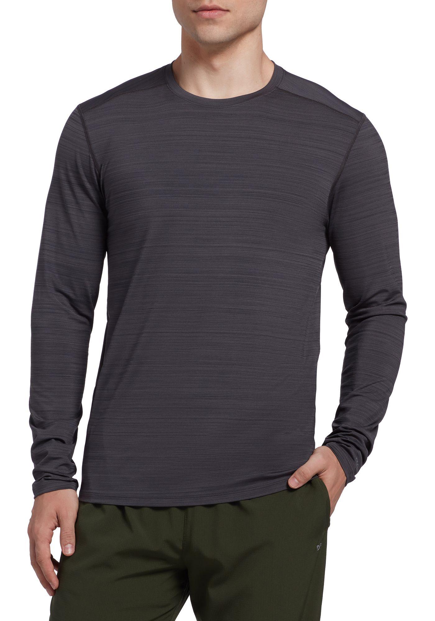 DSG Men's Barcode Training Long Sleeve Shirt