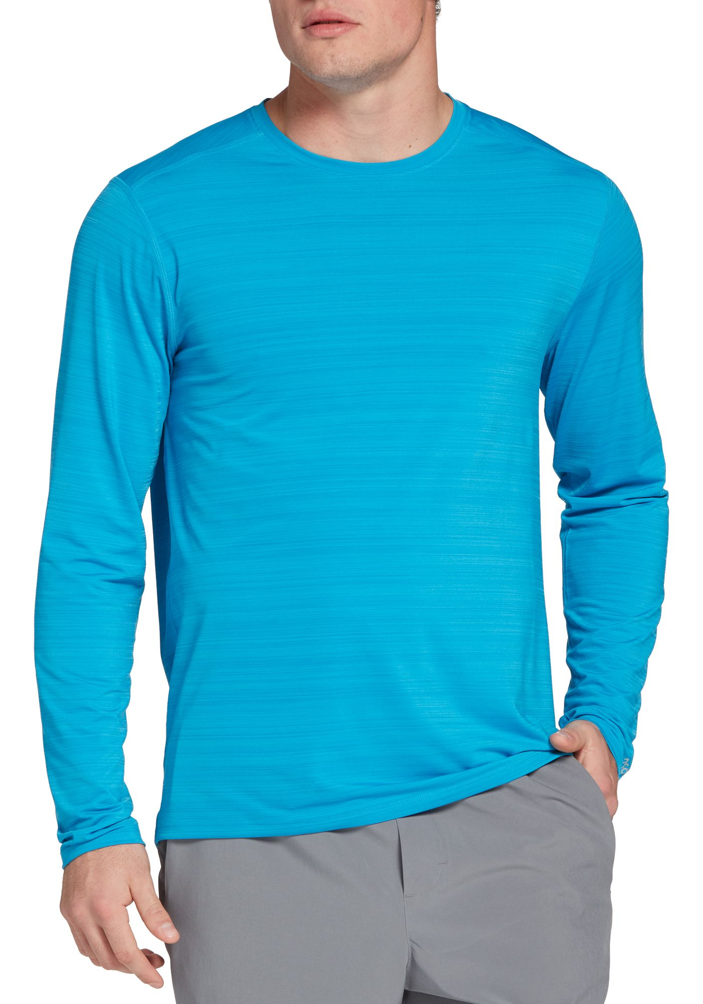 DSG Men's Barcode Training Long Sleeve Shirt