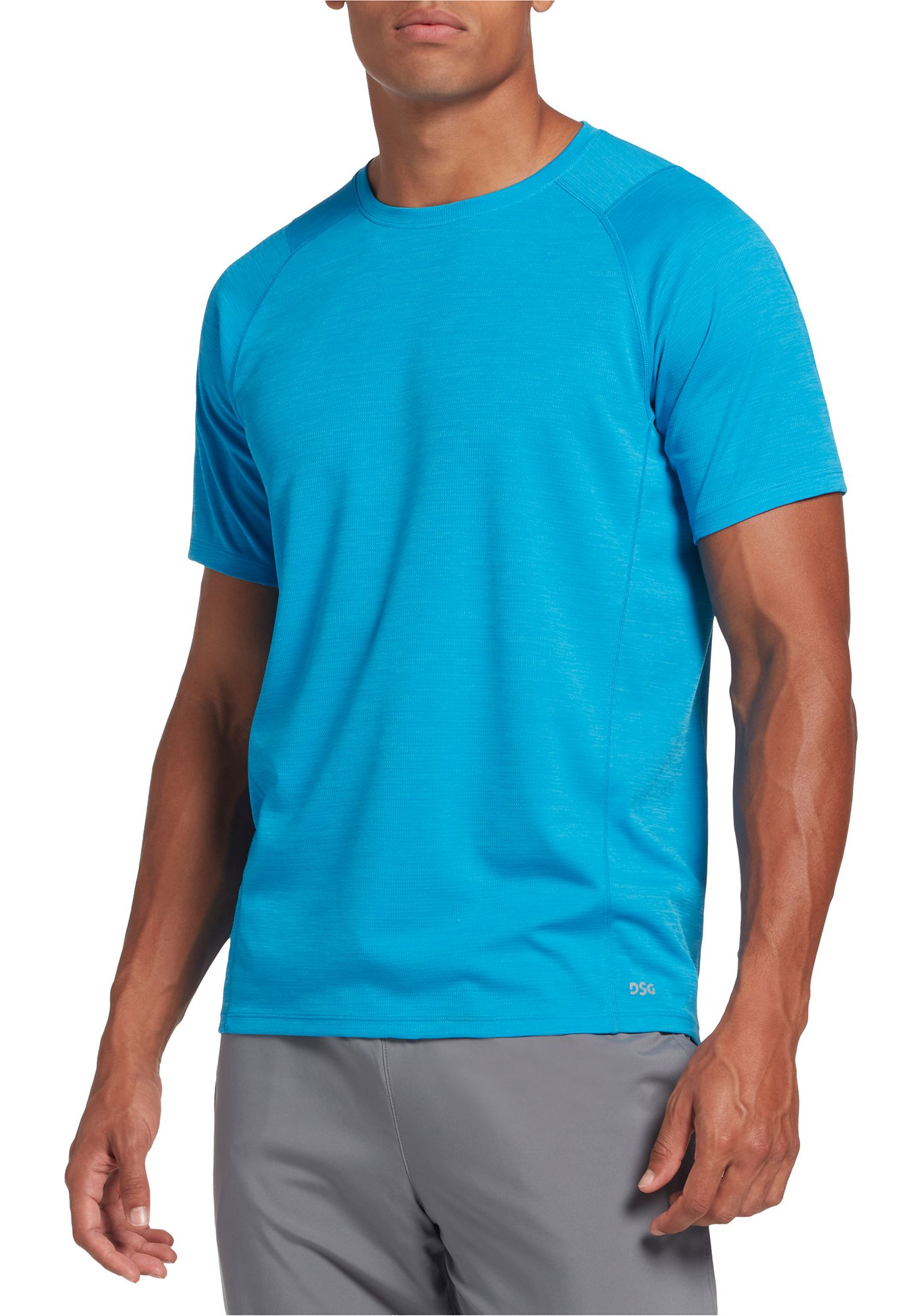 DSG Men's Heather Running T-Shirt