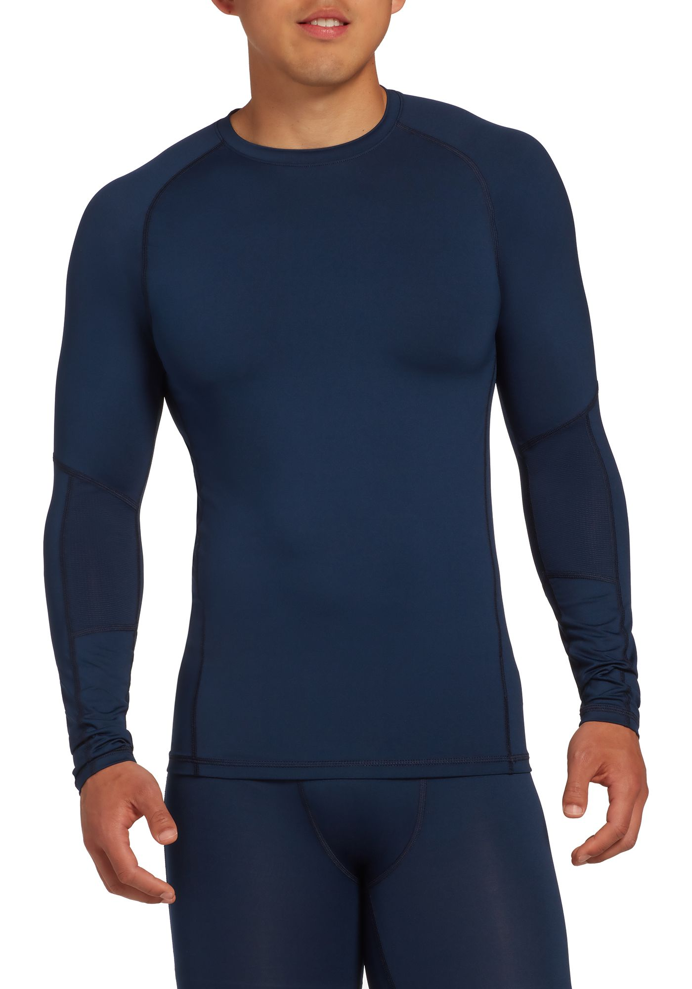 DSG Men's Compression Crew Long Sleeve Shirt
