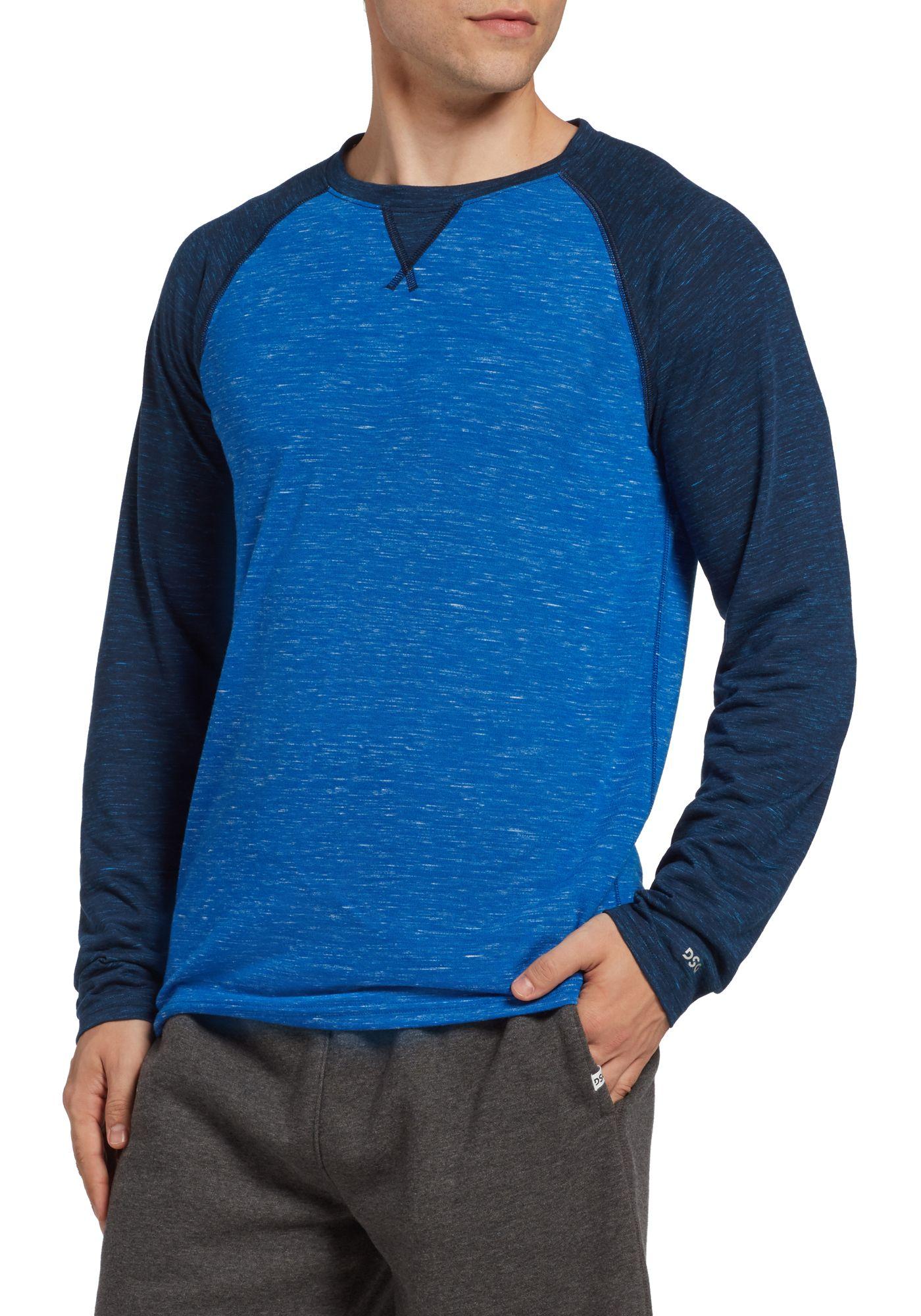 DSG Men's Cotton Training Long Sleeve Shirt