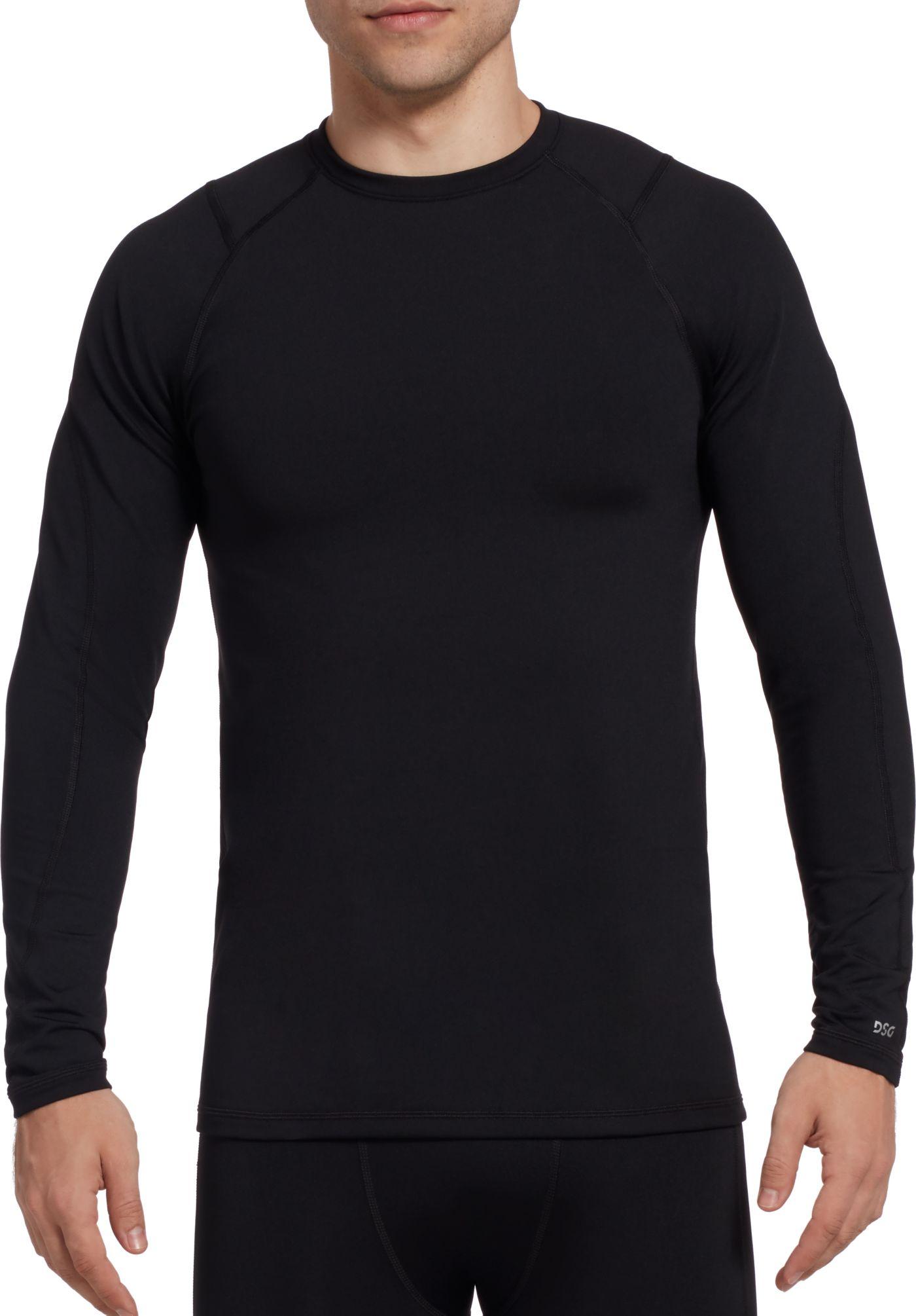 DSG Men's Cold Weather Crewneck Long Sleeve Shirt