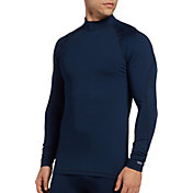 DSG Men's Cold Weather Compression Mock Neck Long Sleeve Shirt