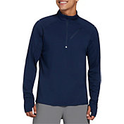 DSG Men's Running 1/2 Zip Long Sleeve Shirt