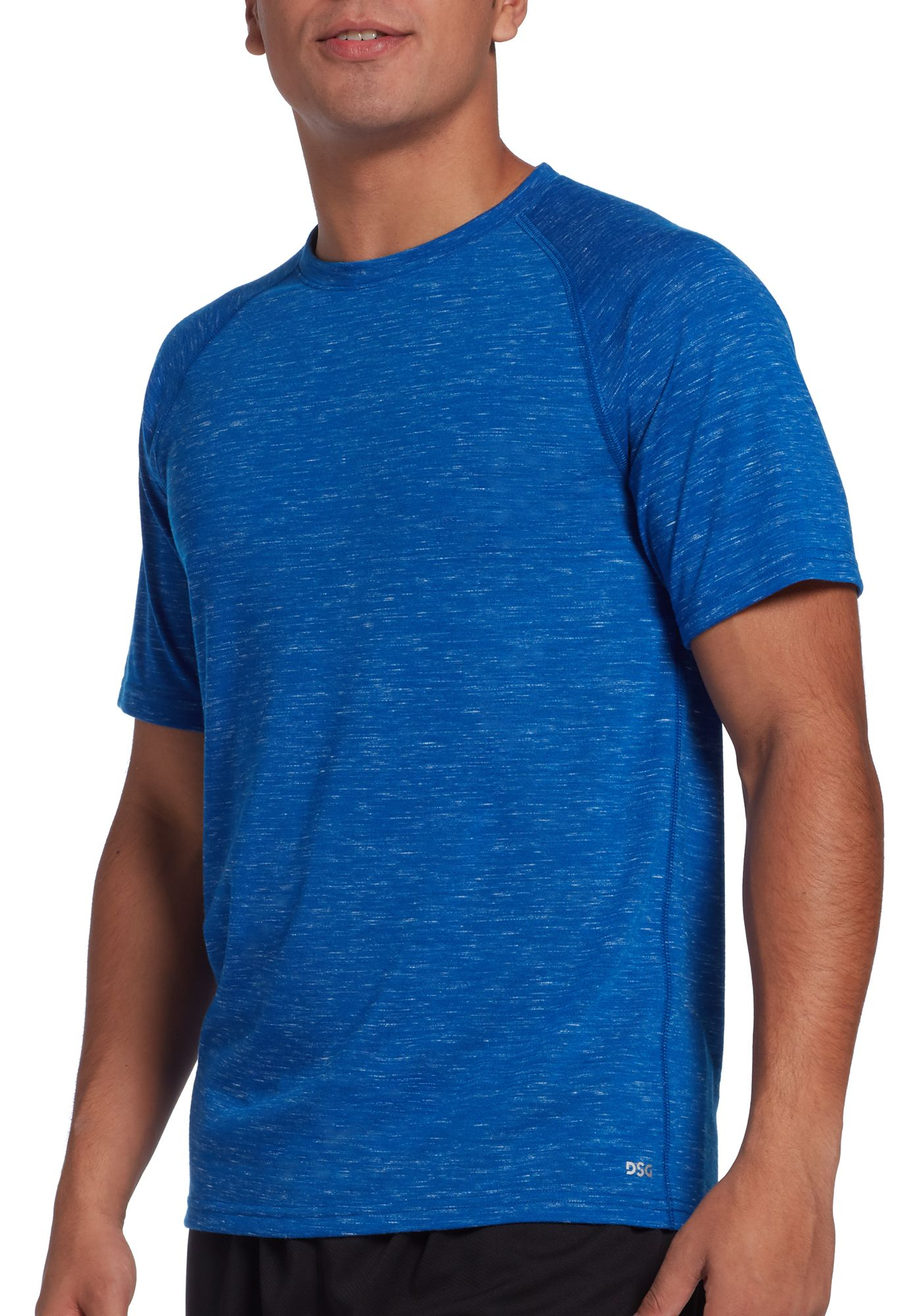 DSG Men's Cotton Training T-Shirt (Regular and Big & Tall)