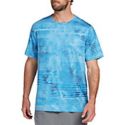 DSG Men's Training T-Shirt (Regular and Big & Tall) in Blue Ombre