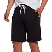DSG Men's Everyday Cotton Fleece Shorts in Pure Black