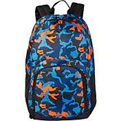 DSG Adventure Backpack in Camo/Black/Blue/Orange