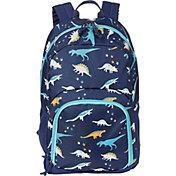 DSG Adventure Backpack in Dinosaur Medieval Blue