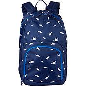 DSG Adventure Backpack in Medieval Blue Shark