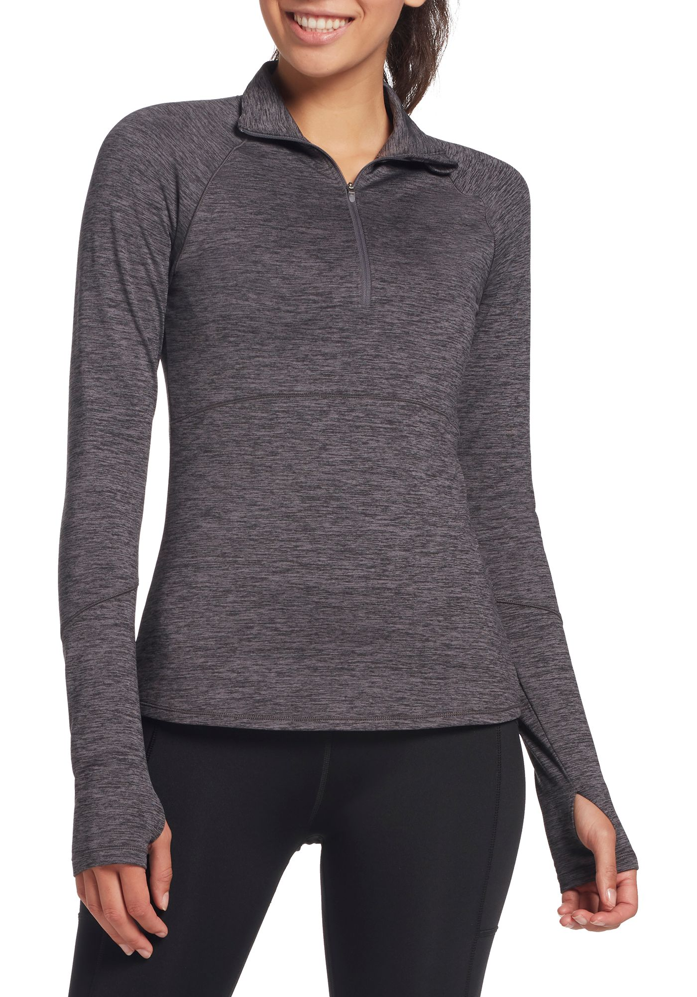 DSG Women's Cold Weather 1/2 Zip Long Sleeve Shirt