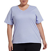 DSG Women's Plus Size Core Cotton V-Neck T-Shirt