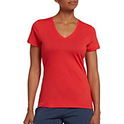 DSG Women's Core Cotton Jersey V-Neck T-Shirt