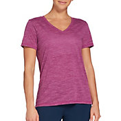 DSG Women's Core Cotton Jersey V-Neck T-Shirt in Pale Orchid