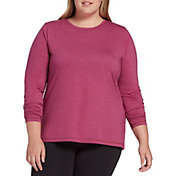 DSG Women's Plus Size Core Cotton Jersey Long Sleeve Shirt