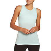 DSG Women's Core Cotton Jersey Tank Top in Blue Tint Slub