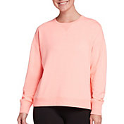 DSG Women's Fleece High Low Crew Sweatshirt