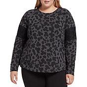DSG Women's Plus Size Fleece Crew Sweatshirt