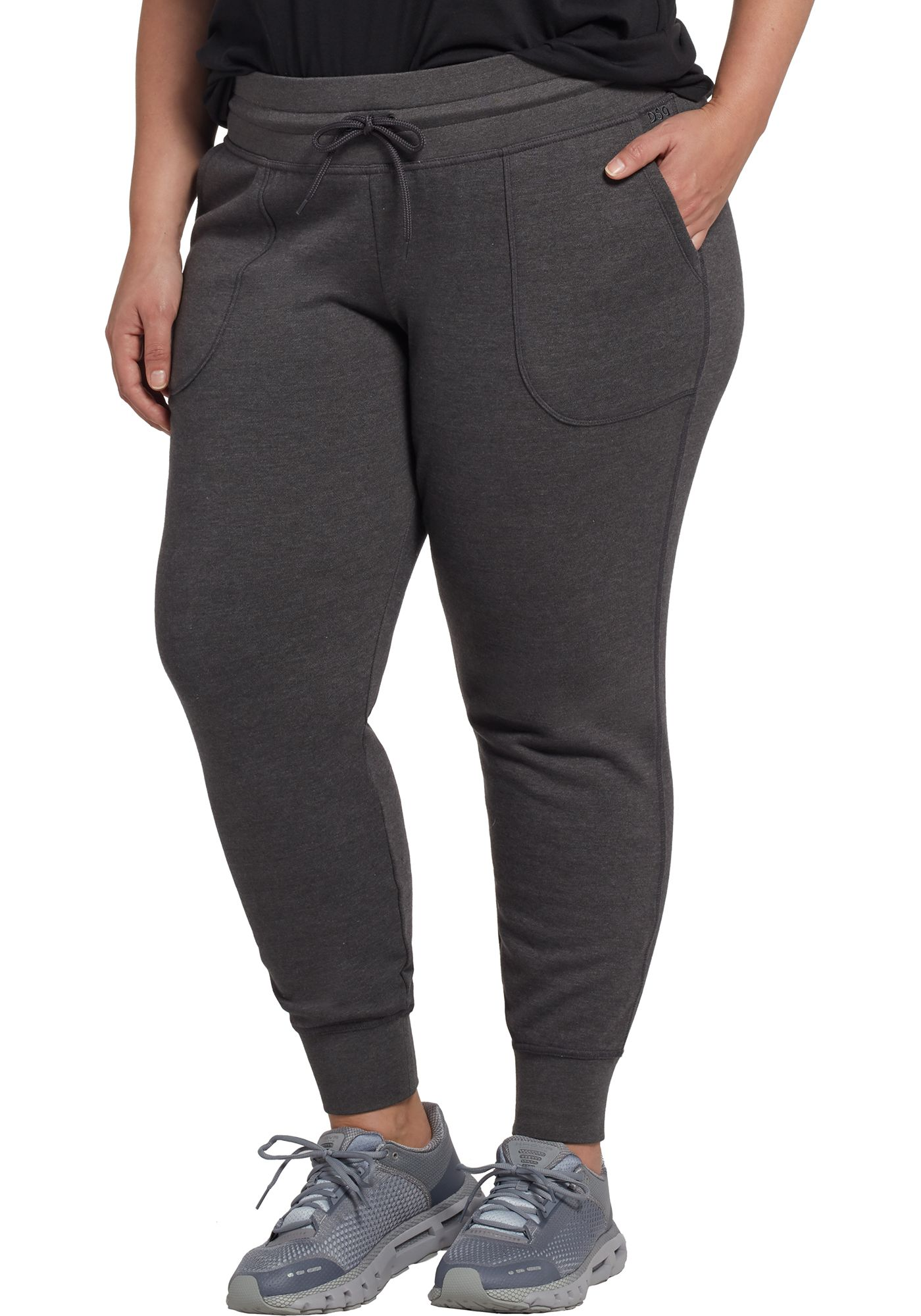 DSG Women's Plus Size Fleece Jogger Pants