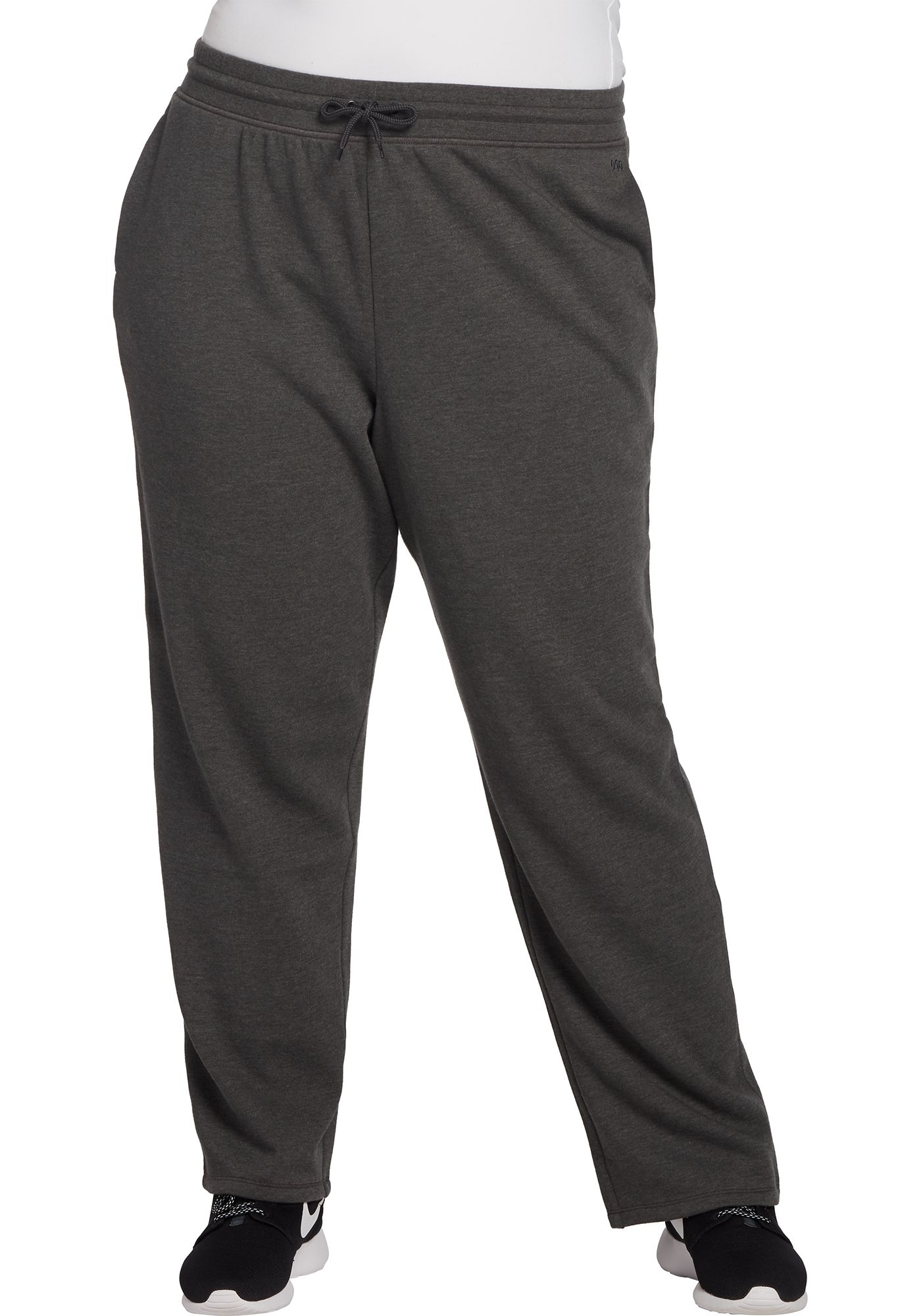 DSG Women's Plus Size Open Hem Fleece Pants