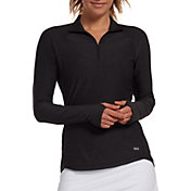 DSG Women's Performance 1/4 Zip Long Sleeve Shirt