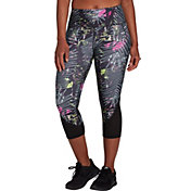 DSG Women's Performance Capris in Hyper Tropic