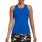 DSG Women's Performance Tight Fit Tank Top in Blue Blaze