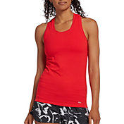 DSG Women's Performance Tight Fit Tank Top in Cherry Ice