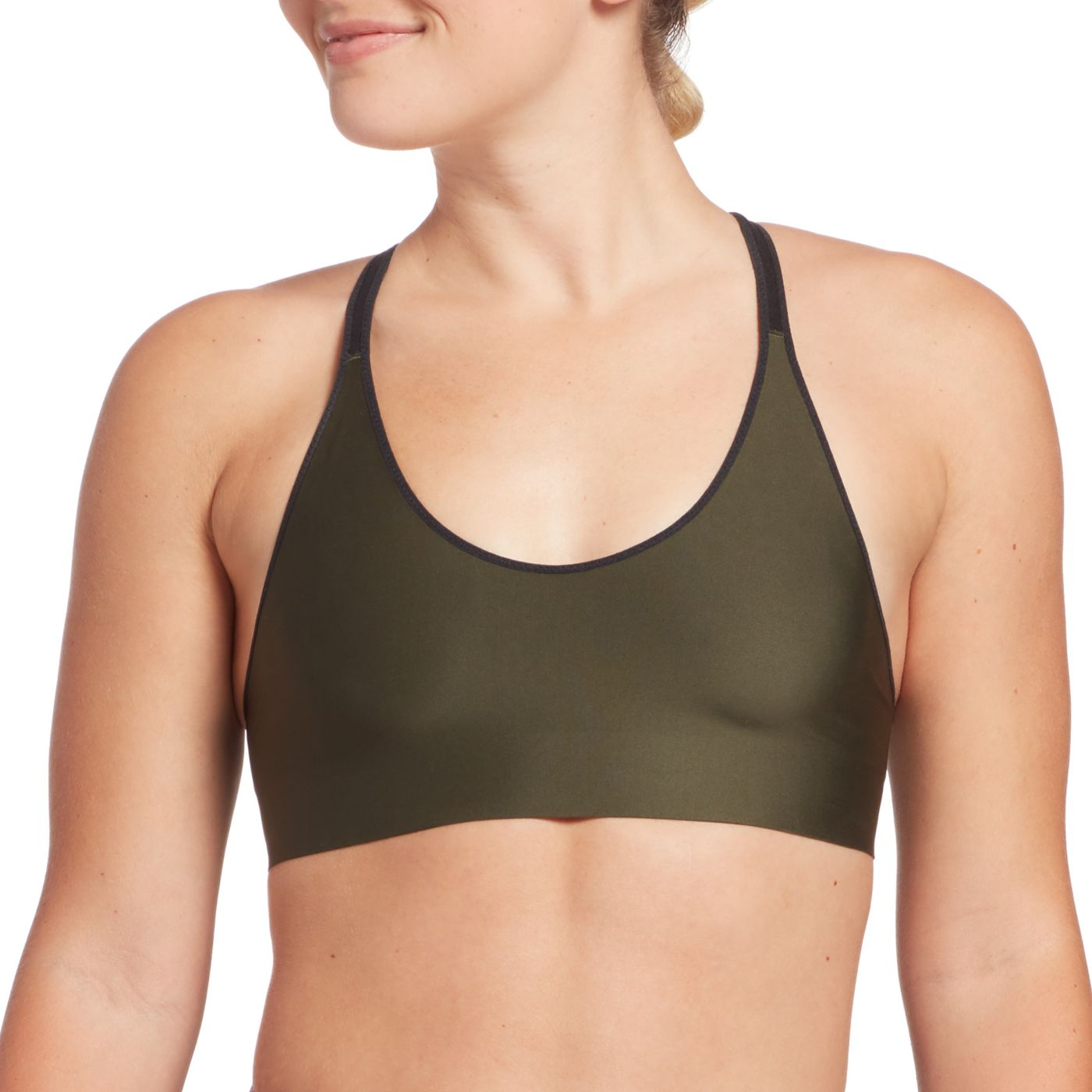 DSG Women's Racerback Compression Sports Bra