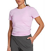 DSG Women's Performance Split Back Cotton T-Shirt