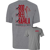 Rapala Men's Rod, Reel, Rapala T-Shirt