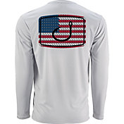 AVID Men's American Anthem AVIDry Long Sleeve Performance Shirt