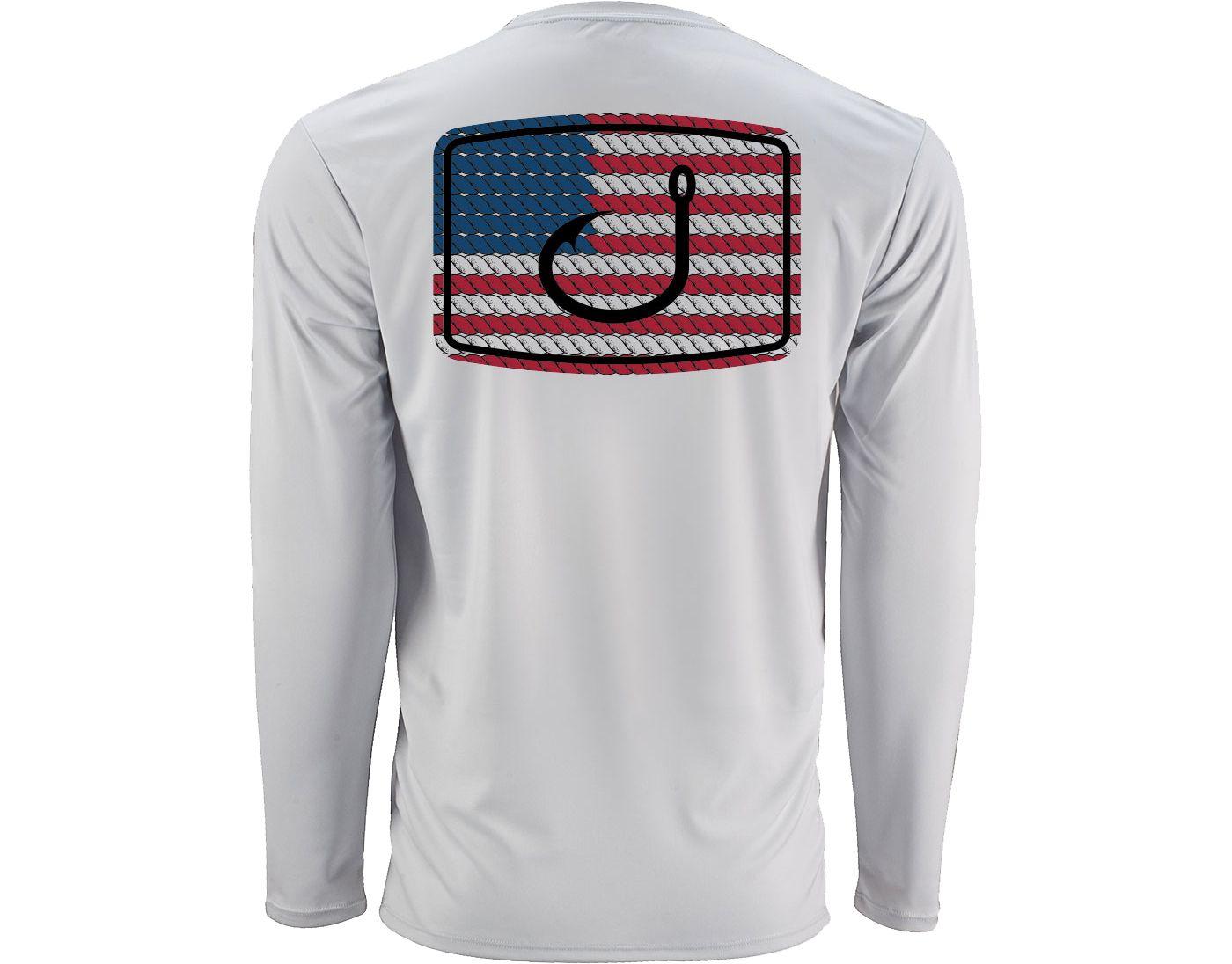 AVID Men's American Anthem AVIDry Long Sleeve Performance Shirt
