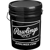 Rawlings 6-Gallon Collegiate Practice Baseball/Bucket Combo - 24 Pack