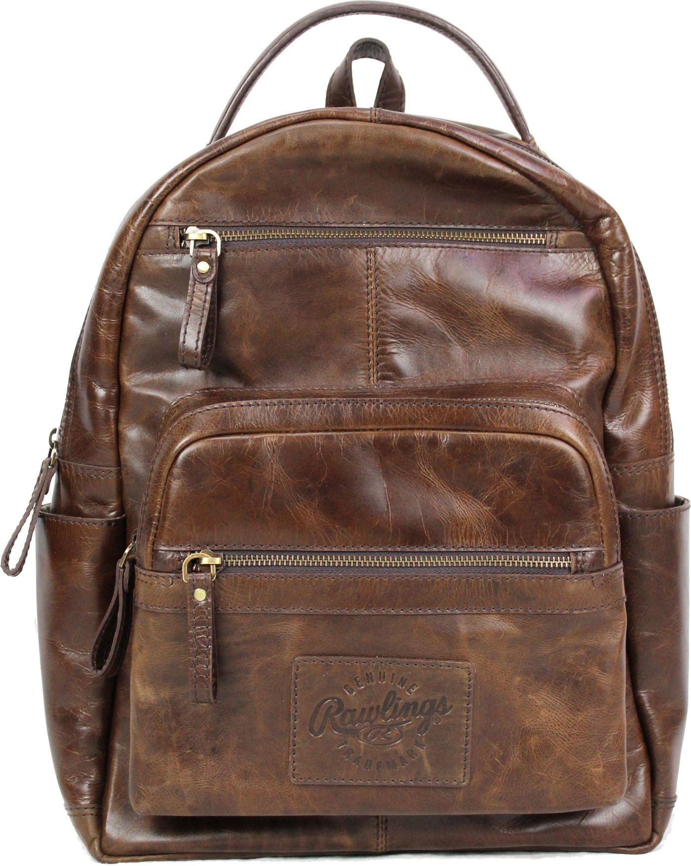 Rawlings Medium Leather Backpack