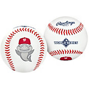 Rawlings Washington Nationals Baby Shark Logo Baseball