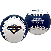 Rawlings 2019 World Series Houston Astros Logo Baseball