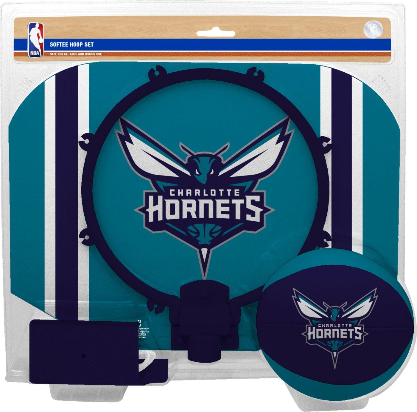 Rawlings Charlotte Hornets Slam Dunk Hoop Set