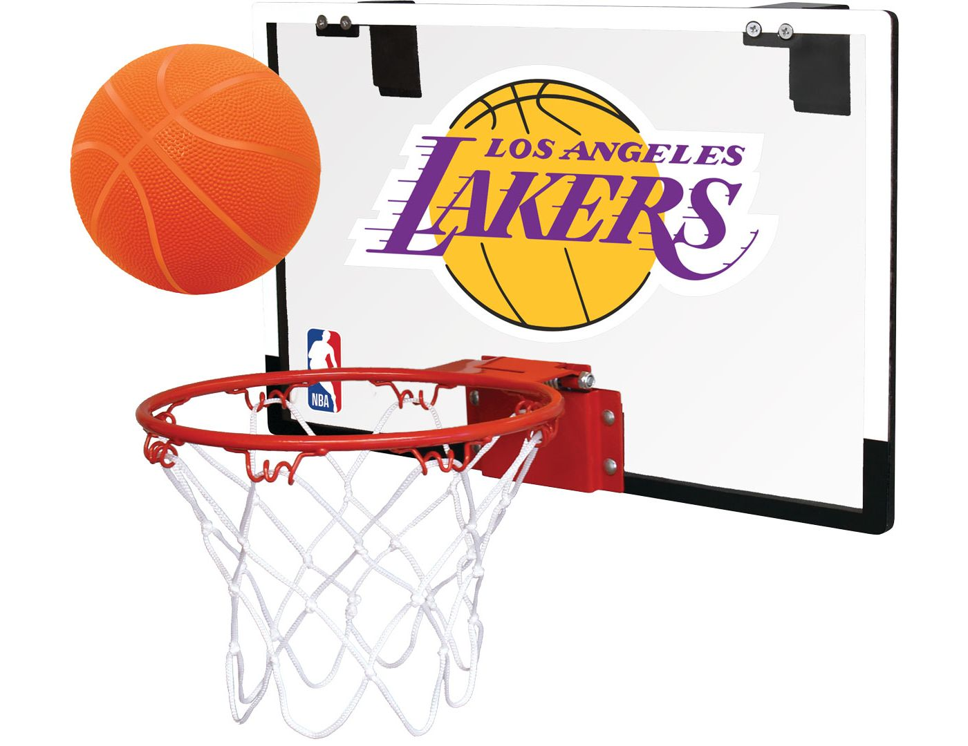 Rawlings Los Angeles Lakers Polycarbonate Hoop Set