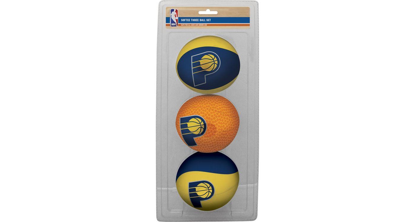 Rawlings Indiana Pacers Softee Basketball Three-Ball Set