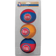 Rawlings Detroit Pistons Softee Basketball Three-Ball Set