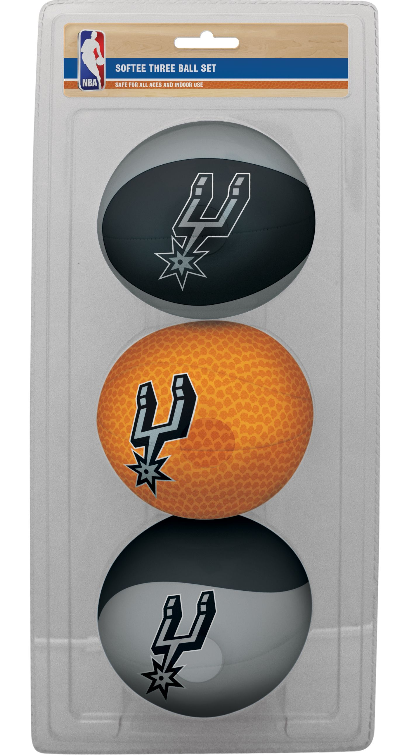 Rawlings San Antonio Spurs Softee Basketball Three-Ball Set