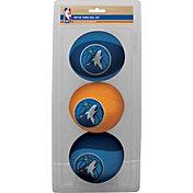 Rawlings Minnesota Timberwolves Softee Basketball Three-Ball Set