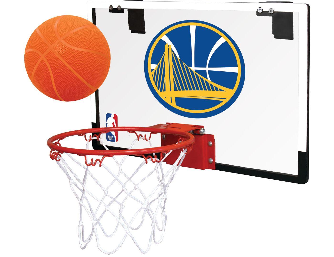 Rawlings Golden State Warriors Polycarbonate Hoop Set