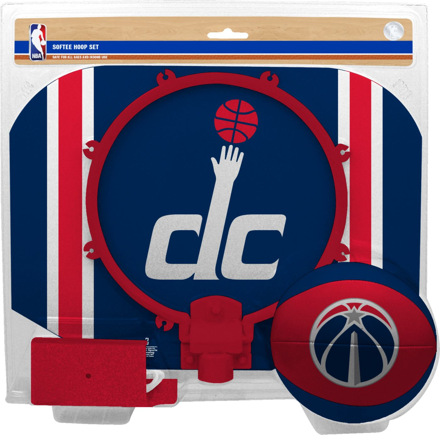 Rawlings Washington Wizards Slam Dunk Hoop Set