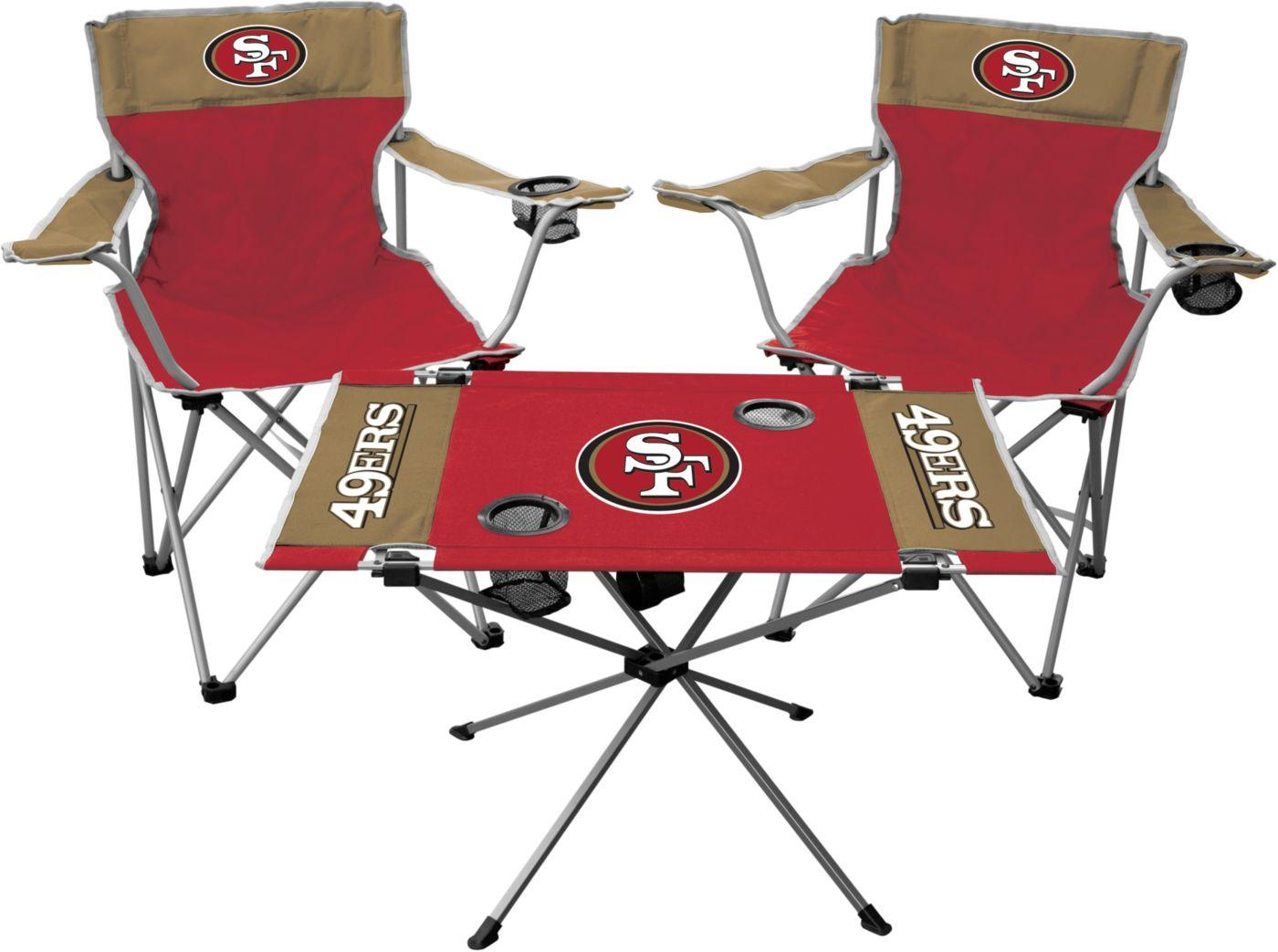 Rawlings San Francisco 49ers 3-Piece Tailgate Kit